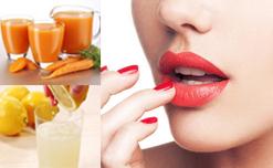 3 Cách giúp đôi môi trở nên hồng hào từ nguyên liệu thiên nhiên