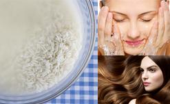 Bí quyết chăm sóc da tại nhà bằng nước gạo của chị em