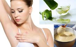 Trị thâm vùng da dưới cánh tay hiệu quả với liệu pháp từ thiên nhiên