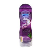 Gel bôi trơn Durex Play Massage 2 in 1 mới chai 200ml chính hãng 100%