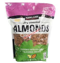 Hạt hạnh nhân Kirkland USA 1,13kg (có tẩm muối)