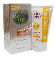 Kem chống nắng Feiya bảo vệ da bạn hoàn hảo với chỉ số SPF 100