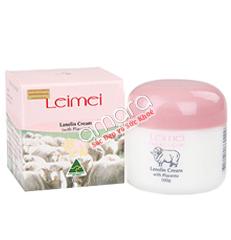 Kem nhau thai cừu kết hợp mỡ cừu Leimei Lanolin trị nám, tàn nhang