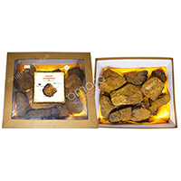 Nấm linh chi đen Chaga của Nga thượng hạng khay 1kg (nấm thô)