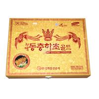 Nước Đông Trùng Hạ Thảo Nhân Sâm Hàn Quốc KangHwa hộp gỗ cao cấp (60 gói x 30ml)