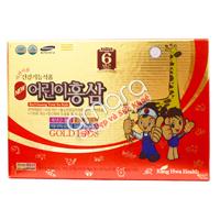 Nước hồng sâm Hàn Quốc 6 năm tuổi loại dành cho bé từ 3 tuổi (20ml x 30 gói)