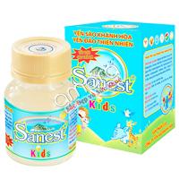 Nước Yến sào Khánh Hòa Sanest dành cho bé (hộp 1 lọ 62ml)