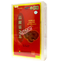Trà linh chi Hàn Quốc Mushroom hộp gỗ 300g (100 gói x 3g)