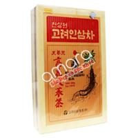 Trà sâm Hàn Quốc - Korean Ginseng Tea hộp gỗ 300g (100 gói x 3g)