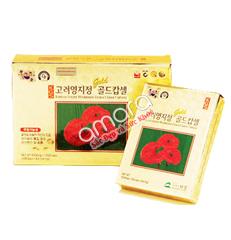 Viên linh chi nguyên chất Hàn Quốc KGS hộp giấy 120 viên