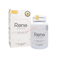 Viên uống đào thải độc tố, hỗ trợ giảm cân Rene Detox 90 viên