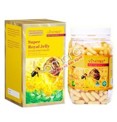 Viên uống sữa ong chúa Vitatree Super Royal Jelly 1600mg