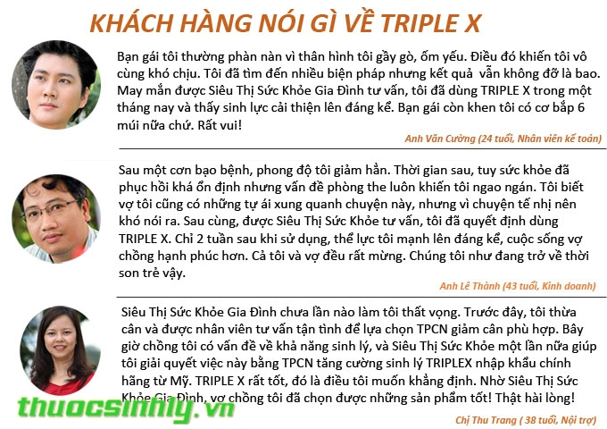 Topics tagged under triple on Diễn đàn Tuổi trẻ Việt Nam | 2TVN Forum Feedback-triple-x