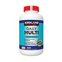 Daily Multi Kirkland - Thuốc bổ sung vitamin và khoáng chất cho người dưới 50 tuổi