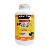 Dầu cá Kirkland Fish Oil Omega 3 400 viên