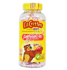 Kẹo Dẻo Gummy Bear Calcium with Vitamin D 200 viên (mẫu mới 2016)