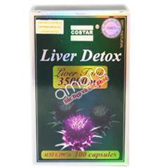 Liver Detox Costar Australia - Giải độc, tăng cường chức năng gan