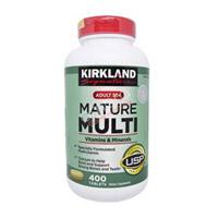 Mature Multi Kirkland - Thuốc bổ sung vitamin và khoáng chất cho người trên 50 tuổi