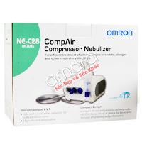 Máy xông mũi họng nén khí Omron NE-C28 (chuyên dùng trong bệnh viện)