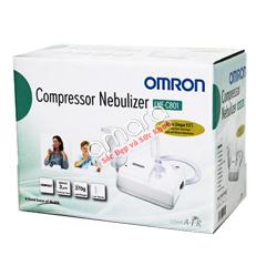 Máy xông mũi họng nén khí Omron NE-C801 (người lớn+trẻ em)