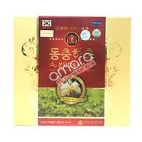 Viên đông trùng hạ thảo Gold Bio Hàn Quốc viên nhộng (02 hộp x 60 viên)