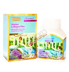 Viên uống đa năng Marine Collagen plus Vitatree 100 viên