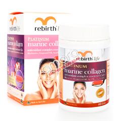 Viên uống Marine Collagen Rebirth Life 60 viên